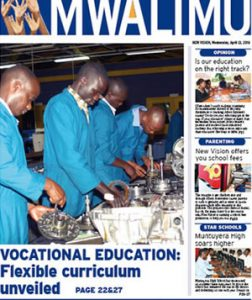 Unveiling of the new vocational curriculum
