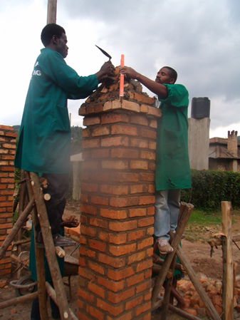 Students of Civil Engineering doing Construction-acct